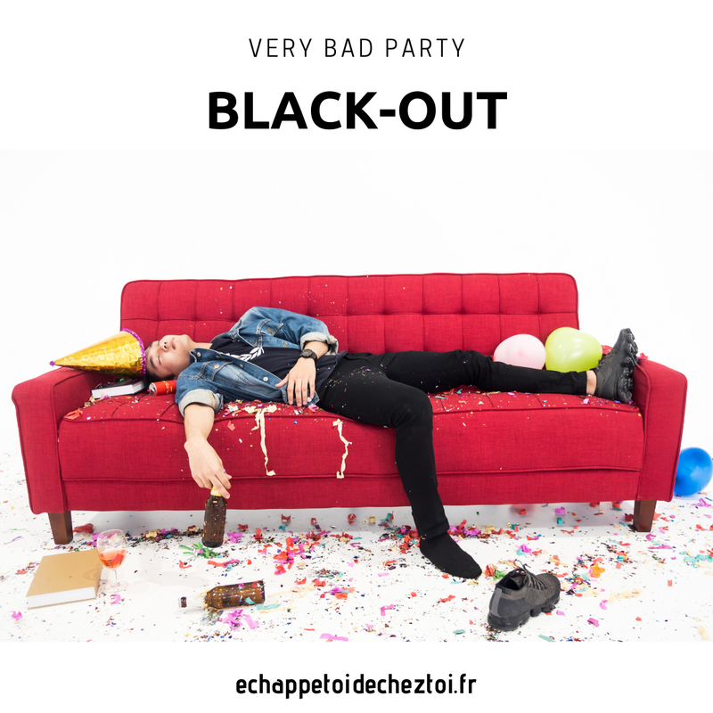 VERY BAD PARTY : BLACK OUT - prochainement