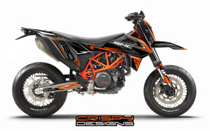 Specialist in motorcycle graphics and decals  Triumph, KTM