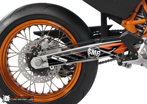 '690 Sponsors' full coverage swing arm decal set for SMC & SMCR