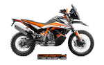 KTM 790 ADV-R FTY1 tank decal kit