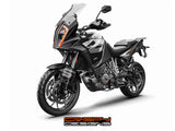 "KTM 1290 Super Adventure 'Super S' 19"" fender decal set"