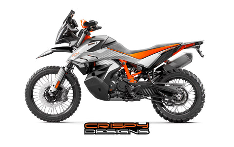 KTM 790 ADV-R 'Tundra' decal kit