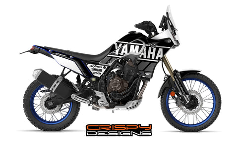 "Yamaha Tenere 700 ""Factory Racing"" decal kit"