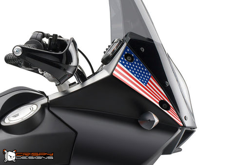 KTM Adventure national flag plate decal set