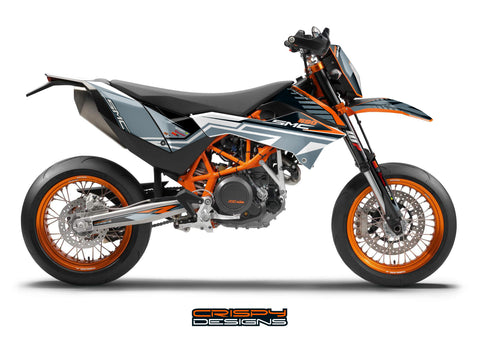 KTM 690 SMC-R 'GFX MID' decal kit