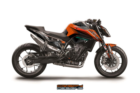 Copy of KTM 790 Duke 'APX1' decal kit