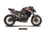 KTM 790 Duke 'GeoCamo' decal kit