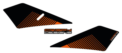 Mulley - KTM 790 Duke lower tank decals