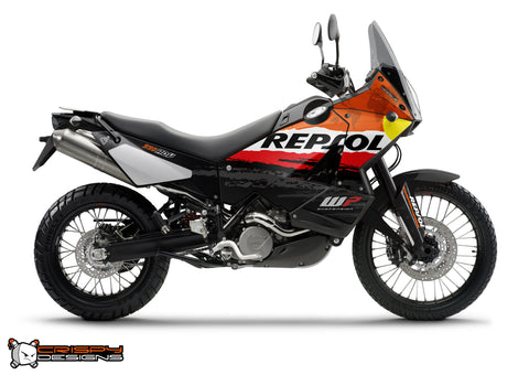KTM Adventure 'REPSOL Rally' - Custom Race Number