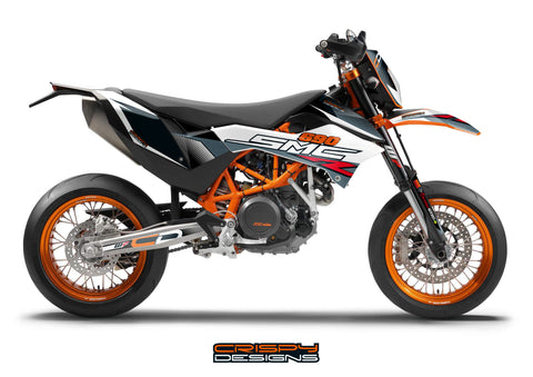 KTM 690 SMC-R 'Scalpel' decal kit