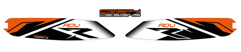 KTM 790 ADV R FTY1 swing arm decals