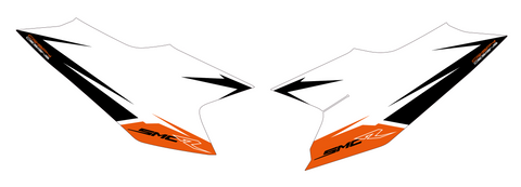 LOCK - KTM 690 SMCR number boards