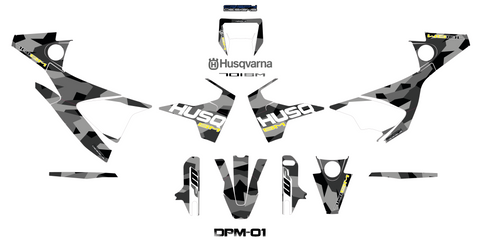 Husqvarna 701 Supermoto - DPM-01 decal set