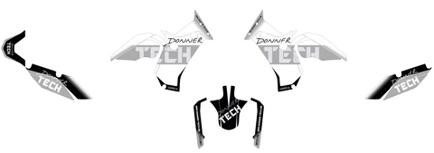 Donner TECH - Custom Tenere 700 decal set