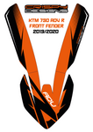 KTM 790 ADV R FTY high fender decals