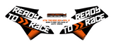 KTM 790/890 ADV & ADV R 'Ready to >> Race' tank decals