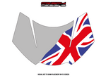 Colour Union Jack Fly Screen - 2016 > Triumph Speed & Street Triple 765 RS