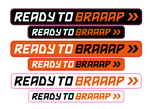 JOLLY - Ready to braaapp >> sticker sheet