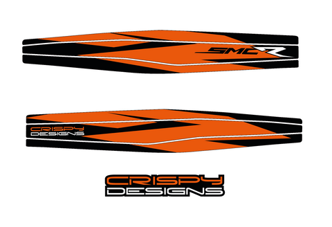 KTM 690 SMCR KT5 coverage swing arm decal
