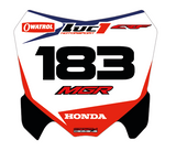 Richardson - Custom Honda CRF decals set