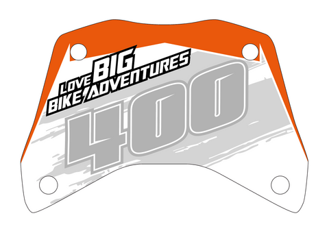 Love - Custom KTM ADV 1290 R screen decal