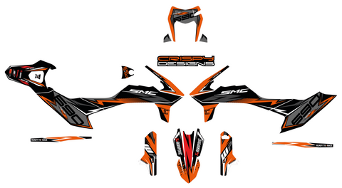Wolfenden - 2019 KTM 690 Enduro R custom decals