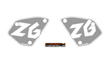 Honda CB1000R NSC number board decal set