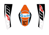 Shelley - KTM 690 Duke Gulf decals