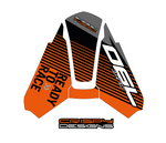 KTM 790 Duke APX 1- Powerparts tail cowl decal set