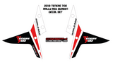 Yamaha Tenere 700 'World Raid' screen decal set - 2019+