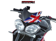 Colour Union Jack Fly Screen - 2013+ Triumph Speed & Street Triple