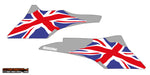 2016 > Triumph Speed Triple Union Jack belly pan decal set - Colour