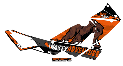 Seb - Custom KTM Adventure decals