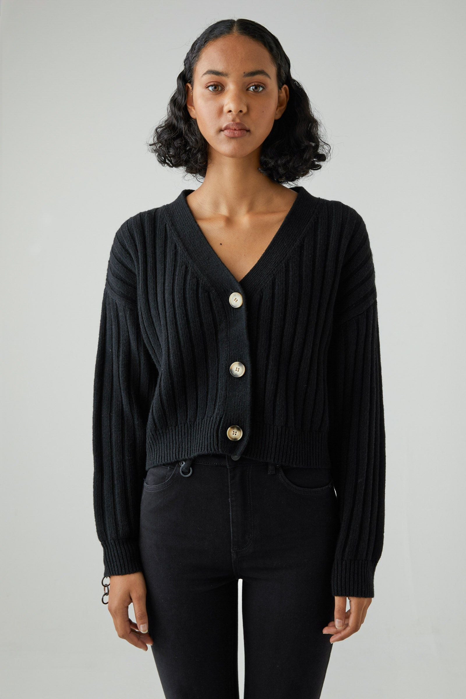 Rosie Cardigan - Black