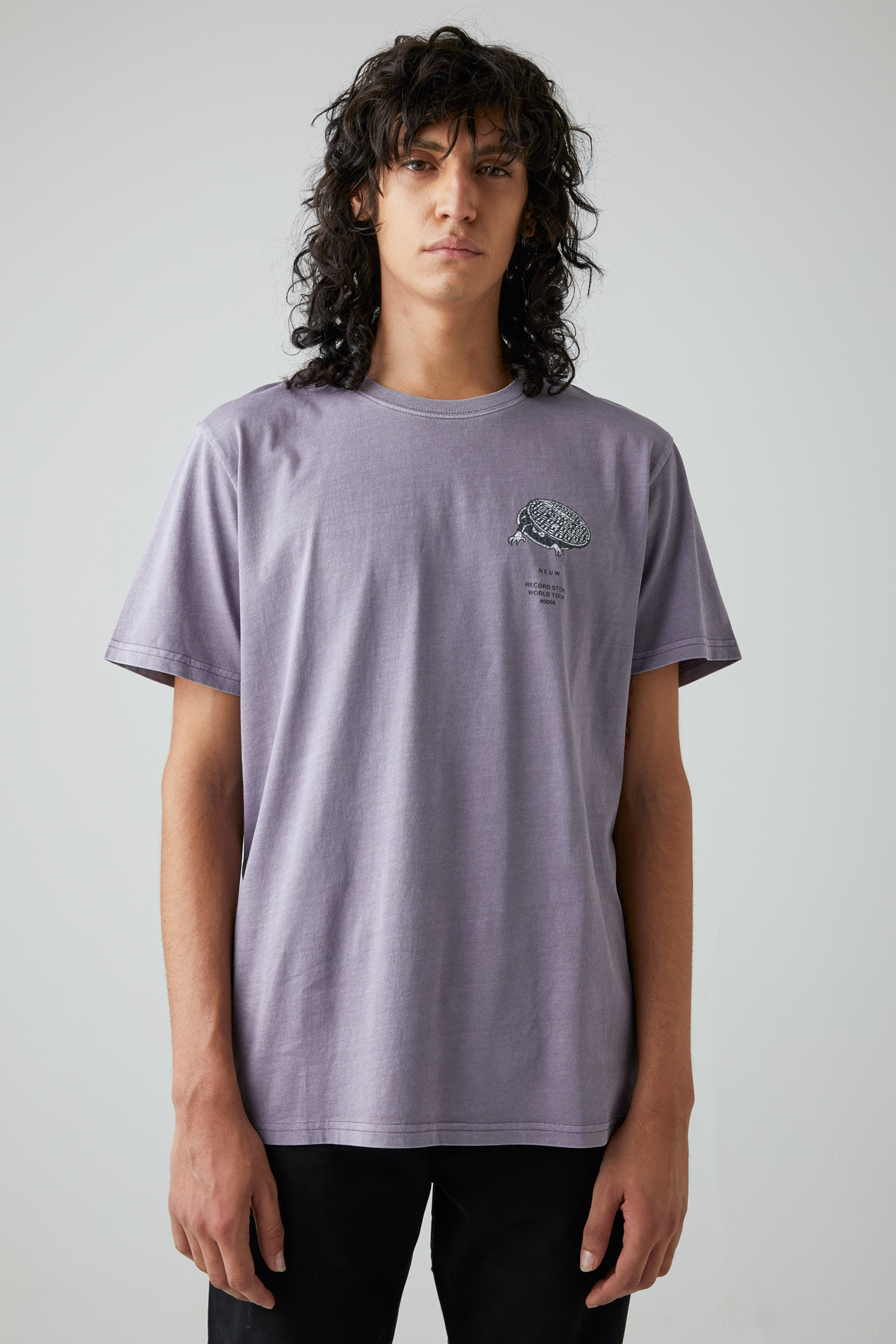 Almost Ready Ss Tee - Purple