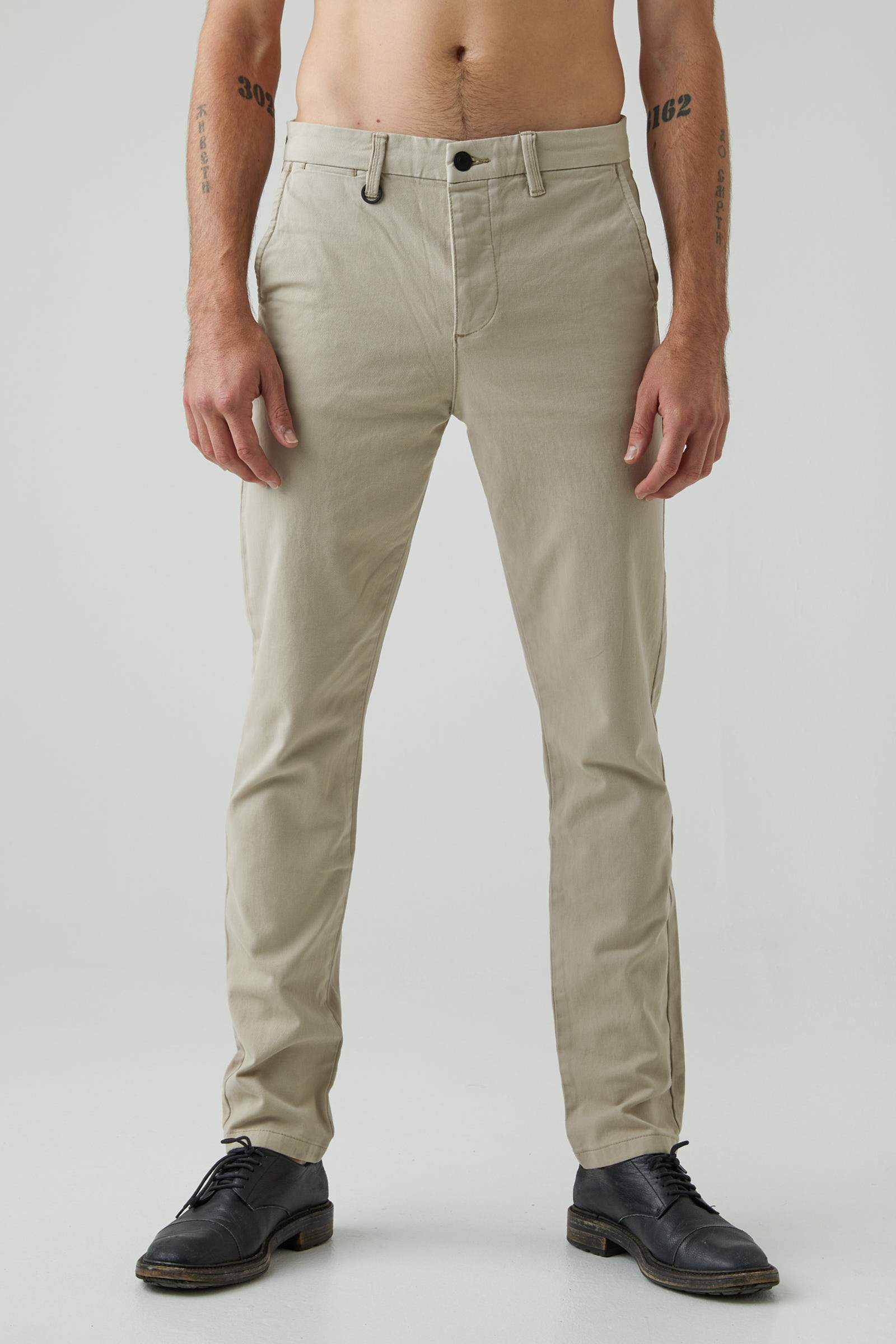 Clash Slim Pant - Washed Stone