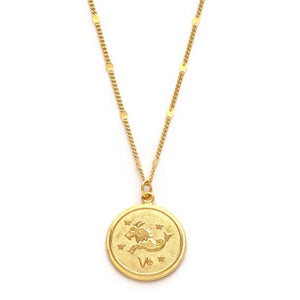 Zodiac Medallion – Capricorn, Aquarius, Pisces