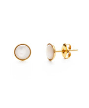 Load image into Gallery viewer, 6mm Mother of Pearl Studs