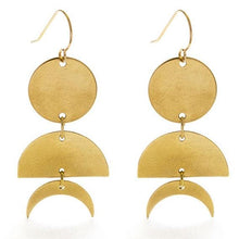 Load image into Gallery viewer, Celestial Geometry Earrings