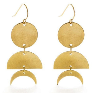 Celestial Geometry Earrings