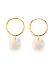 Load image into Gallery viewer, Playa Stud Earrings - Mother of Pearl