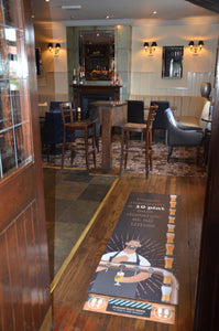 Floor Graphics - Pub Pints
