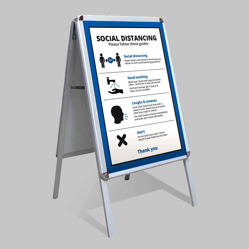 A Board and Posters (Business) - No Distance Measure