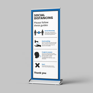 Pull Up Banner (Business) - No Distance Measure