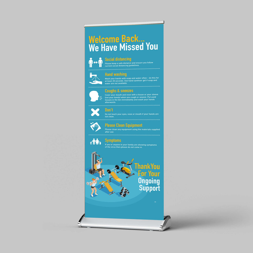 Pull-Up Banner - Gym