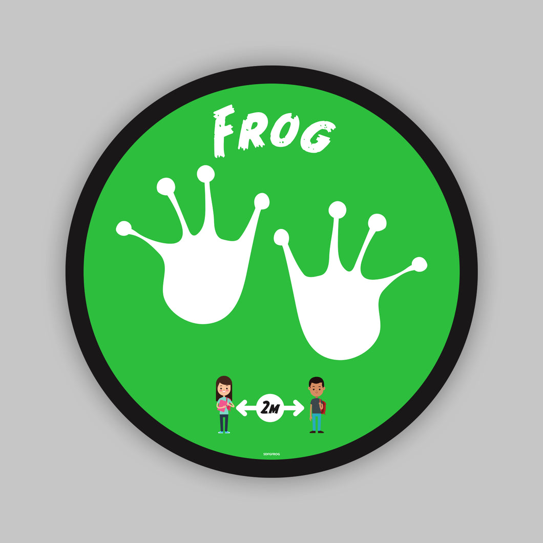 Floor Graphics - Frog