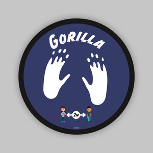 Floor Graphics - Gorilla