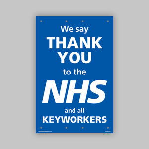 Support the NHS Panel Board (Small)