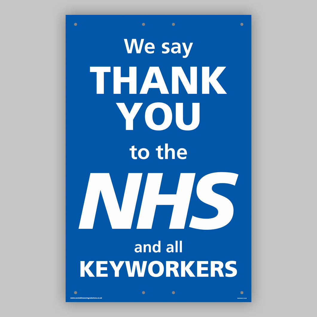 Support the NHS Panel Board (Large)