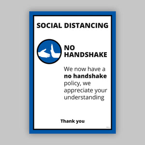 A4 No Handshake - Self Adhesive Vinyl (Business)